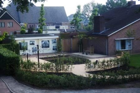 Belevingstuin met toestellen