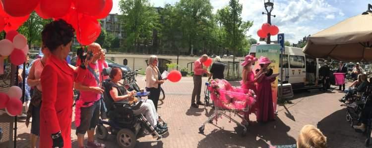 Amsterdam Gay Pride 2015 voor ouderen