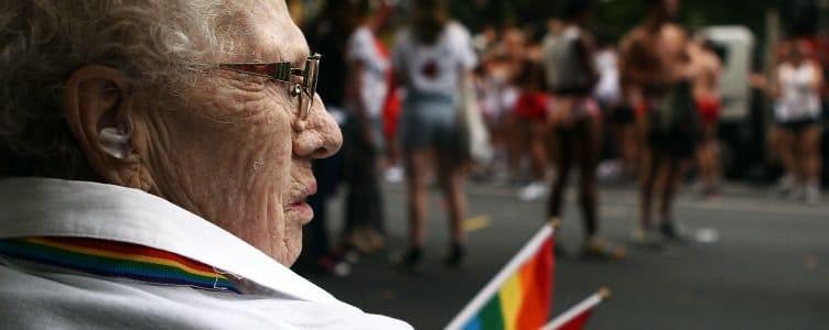 Homo ouderen in verzorgingshuizen omslagfoto