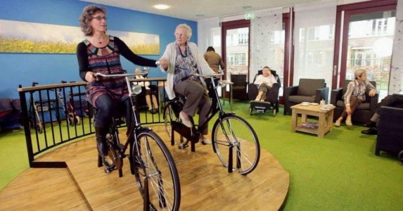 Ouderen in beweging