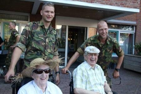 Pantein 4daagse met militairen