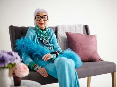 Iris Apfel google plus