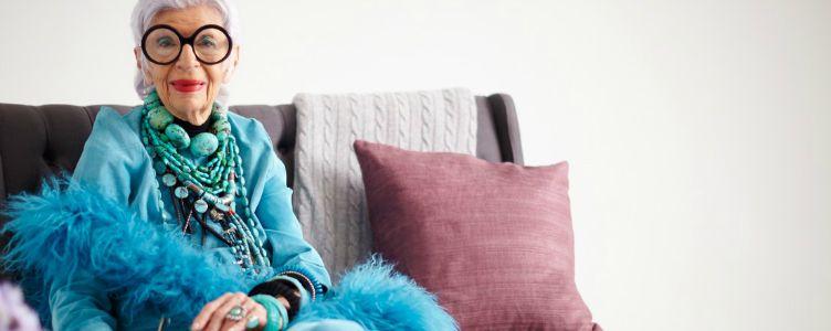 Iris Apfel portretfoto