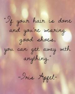 Iris Apfel quote 2