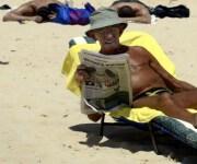 Is zonnen gevaarlijk omslagfoto