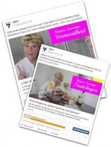 Marja's Zomertips facebook posts