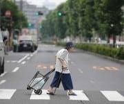 Oud worden in Japan