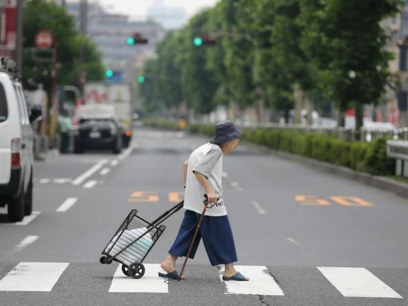 Oud worden in Japan google