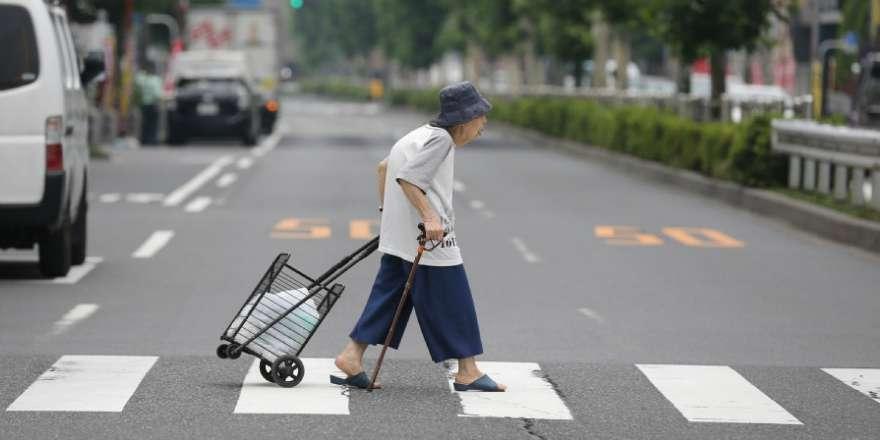 Oud worden in Japan twitter