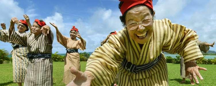 Oude popsterren uit Japan
