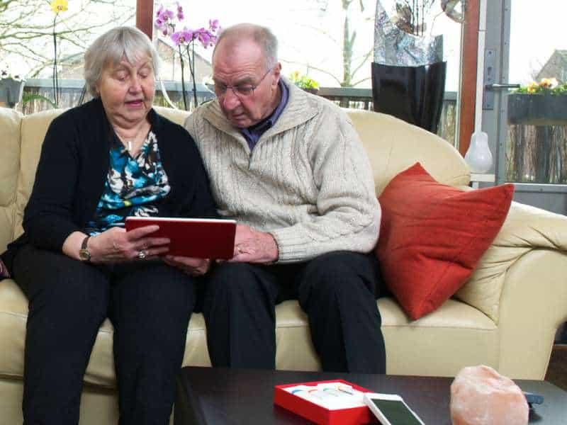Thuiszorg met slimme technologie google plus