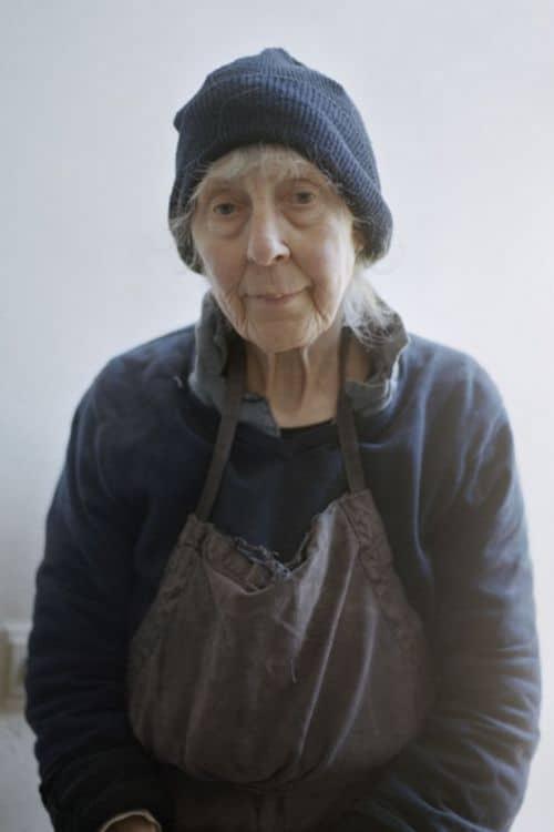Emmy met mutsje door Hanne van der Woude