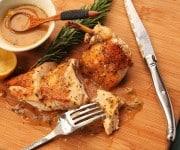 Franse kip uit de oven met knoflook