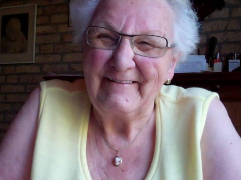 Oma Annie van 90 google