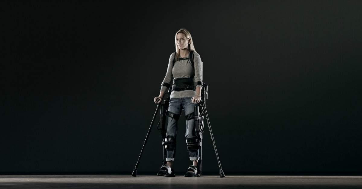 Een exoskelet om te lopen facebook
