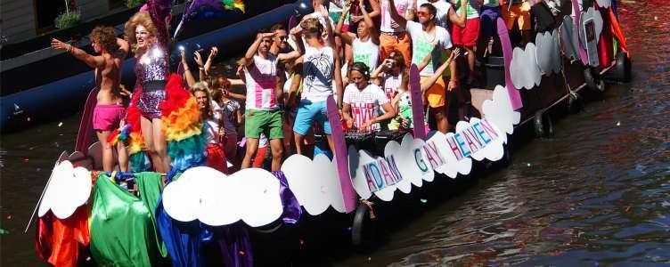 Vrijen in vrijheid tijdens de Amsterdam Gay Pride