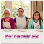 Meer eten minder zorg boekomslag