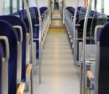 Met de trein op pad