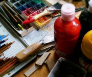 Naaktmodel schilderen als Rembrandt