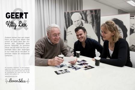 Geert, Lex en Kitty in Levensles