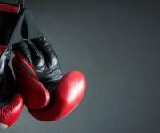 Kickboksen in een rolstoel