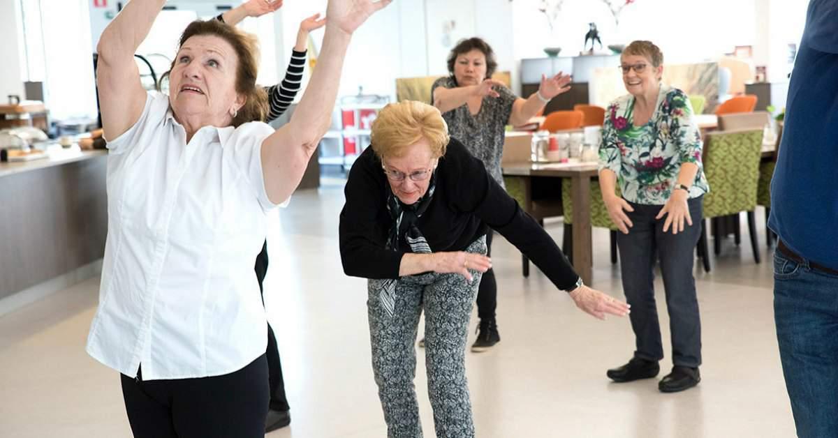 Dansen tijdens je pensioen facebook