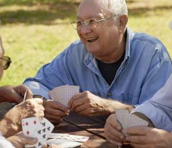 Een hangplek voor ouderen