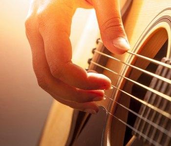 Met je gitaar naar het zorgcentrum