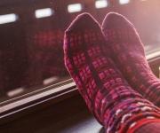 Op je sokken je huis afstoffen