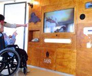 Interactieve muur voor mensen met dementie