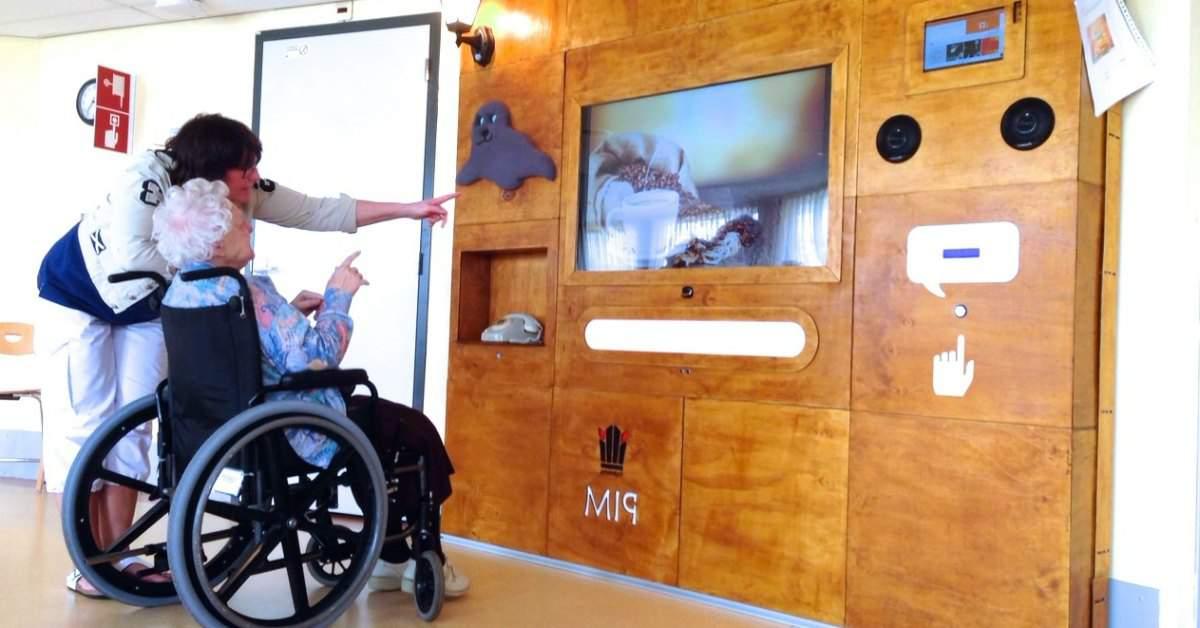 Interactieve muur voor mensen met dementie facebook