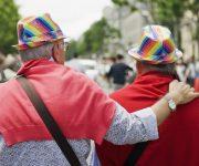 Roze ouderen in Delft