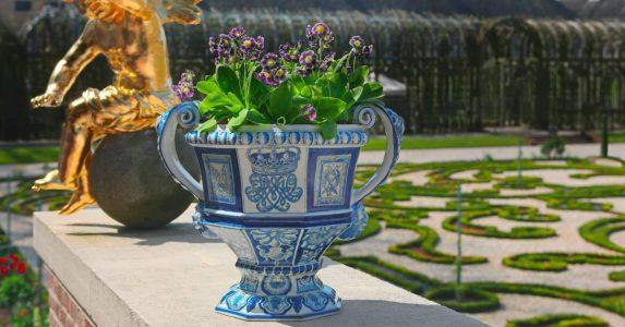 Delfts blauwe vazen