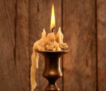 Hoe voorkom je lekkende kaarsen?