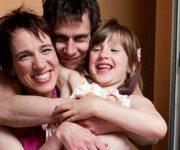 Joy van der Stel en haar familie