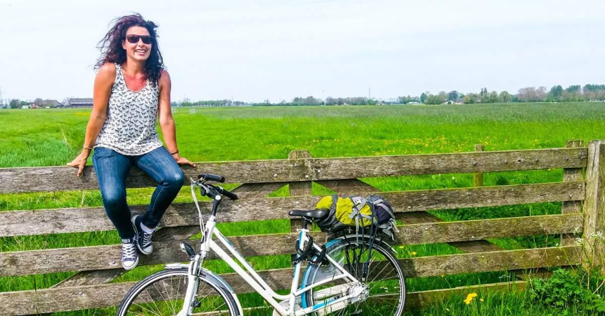 Lisette van Marrewijk fietst voor het goede doel facebook