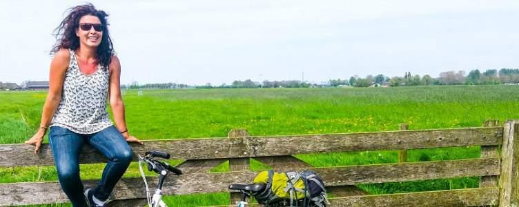 Lisette van Marrewijk fietst voor het goede doel