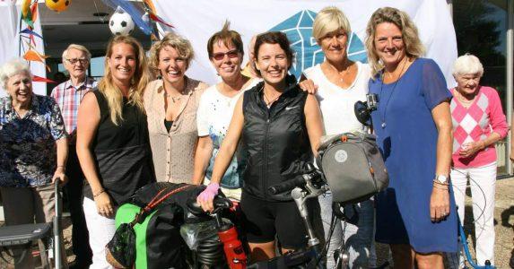 Lisette van Marwijk maakt een fietstocht