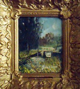 Het bruggetje bij Abcoude