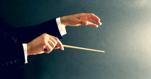 Muziek luisteren en dirigeren