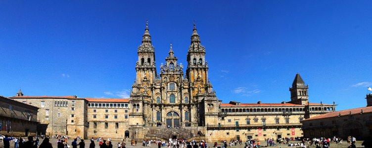 Santiago de Compostella in zicht
