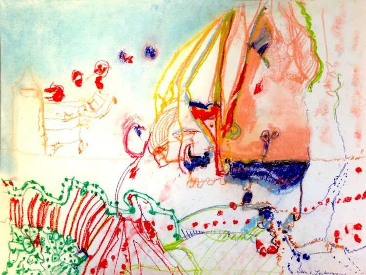 Schilderij van Sjaan van Lunteren