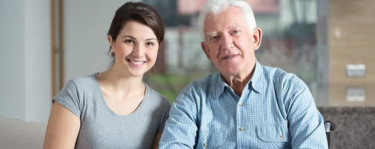 Ouderen met dementie en jonge mensen