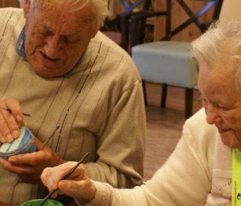 Schilderen met ouderen in Veenhage