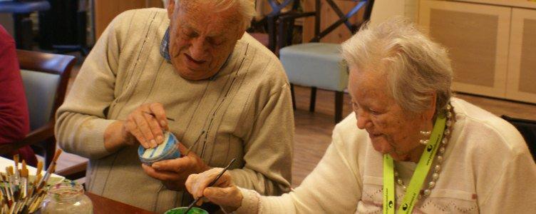 Schilderen met ouderen