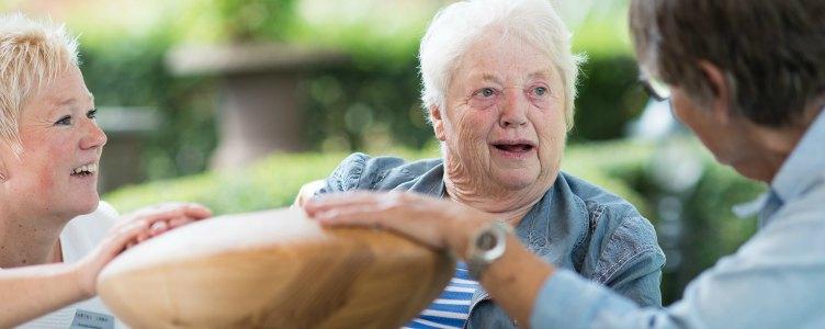 Contact maken met mensen met dementie