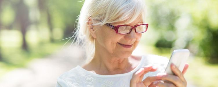 Gebruiksvriendelijke smartphone voor ouderen