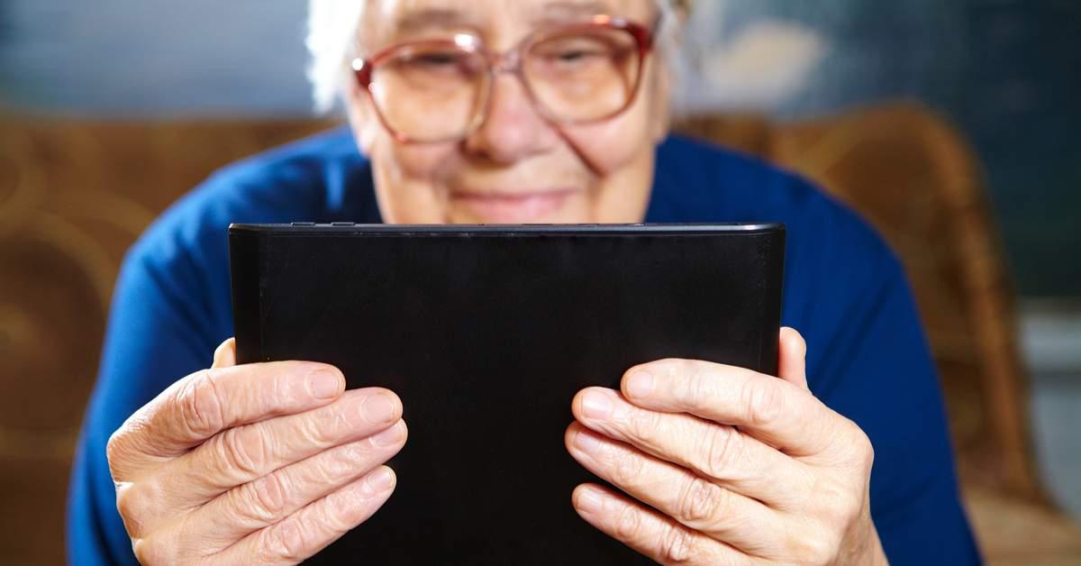 Internetgebruik onder ouderen facebook
