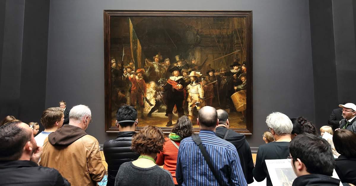 Musea hebben het druk facebook