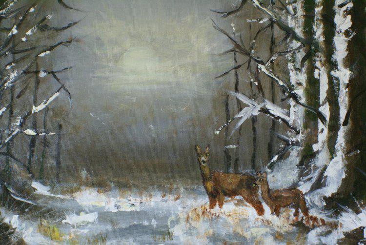 Schilderij van Corry